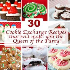 http://www.howdoesshe.com/30-cookie-exchange-recipes-that-will-make-you-the-queen-of-the-party/