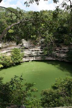 Cancun cenotes