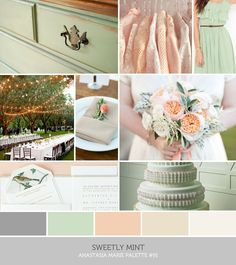 I'm glad my wedding colors are popular this year it makes it easier to find stuff! Wedding Color Schemes, Wedding Colors, Spring Wedding, Our Wedding, Color Inspiration, Wedding Inspiration, Wedding Collage, Cream Wedding, Colour Pallete
