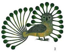 Radiant Owl.  Kenojuak Ashevak