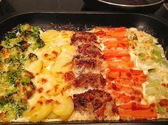 Chefkoch.de Rezept: Schweinefilet-Gratin