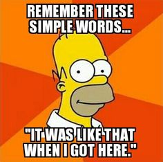 True advice from homer simpson, the yellow average idiot
