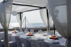 Beautiful Wedding settings at Velas Vallarta - Alicia & Gronneberg Congratulations