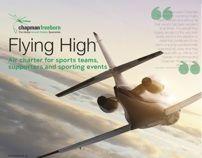 Flying High by Sam Williams, via Behance