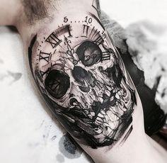 61 Best Stylish, Beautiful and Unique Tattoos for Men unique tattoos for men; unique tattoos for couples; unique tattoos for my son; unique tattoos for lost loved ones; unique tattoos for parents; unique tattoos for best friends Tattoos Arm Mann, Arm Tattoos For Guys, Skull Tattoos, Trendy Tattoos, Black Tattoos, New Tattoos, Body Art Tattoos, Sleeve Tattoos, Cool Tattoos