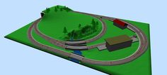 model train layouts | Model Train Track Plans of Micro Sized HO-scale Layouts (Part 1 ...