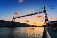 Ponte di Vizcaya, Paesi Baschi, Spagna
