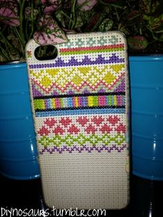 Always in Stitches carries these iPod Cross-Stitch cases. What a great starter project for teens!