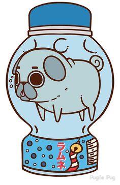 Puglie trató muy duro para ser el mármol …. intentó … • Buy this artwork on apparel, stickers, phone cases y more.