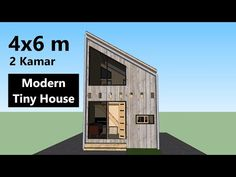 Rumah Minimalis Modern Ukuran 4x4