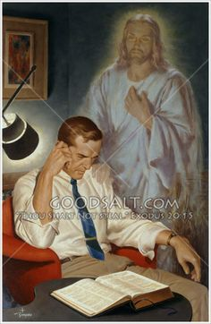 """Jesus Comforting a Frustrated Man. """"Praise be to the God and Father of our Lord Jesus Christ, the Father of compassion and the God of all comfort, who comforts us in all our troubles, so that we can comfort those in any trouble with the comfort we ourselv Image Jesus, Pictures Of Christ, Padre Celestial, Christian Artwork, Saint Esprit, Biblical Art, Jesus Art, Jesus Is Lord, Bible Art"""