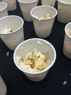 Yummy rice pineapple pudding made with @RicelandFoods rice by @GraceGrits for the #AWBU hospitality room @visitrogers