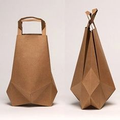 Ilvy Jacobs' Paper Fold Bags
