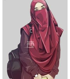 The scarf is an essential bit within the garments of females together with hijab. Cartoon Pics, Girl Cartoon, Cartoon Art, Hijab Niqab, Muslim Hijab, Hijab Dp, Flower Sketches, Art Sketches, Caricature