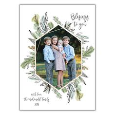 Chic Greenery Custom Made Christmas Photo Cards from BrownPaperStudios.com New Year Greeting Cards, New Year Greetings, Very Merry Christmas, Christmas Photo Cards, Print Packaging, Holiday Festival, Diy Cards, White Envelopes, Greenery