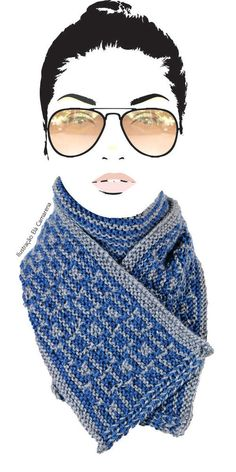 Winter Hats, Fashion, Making Shirts, Illustration Fashion, Knitting And Crocheting, Tricot, Long Scarf, Crafts, Moda