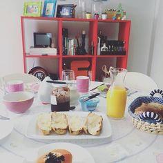 Decoração café da manhã.
