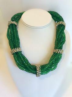 Gems Jewelry, Beaded Jewelry, Beaded Necklace, Diamond Jewellery, Gold Necklace, Beautiful Earrings, Beautiful Necklaces, Long Pearl Necklaces, Multi Strand Necklace