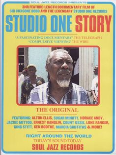 "Soul Jazz Records - 2011The DVD is a 4hr film that tells the full story of Studio One and Clement ""Sir Coxsone"" Dodd. Filmed in Kingston, the documentary has interviews with many of t..."
