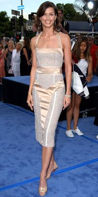100 Best Dresses of the Decade - Bridget Moynahan in Narciso Rodriguez from #InStyle