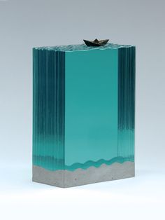 New Layered Glass Sculptures by Ben Young | Inspiration Grid | Design Inspiration