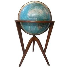 World Globe by Edward Wormley | From a unique collection of antique and modern globes at http://www.1stdibs.com/furniture/more-furniture-collectibles/globes/