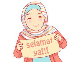 sister's hijab diary by Banana bee sticker