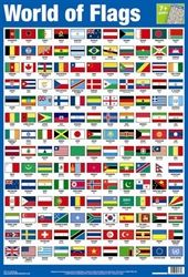 What does Japan's flag look like? And what is the difference between the German and the Belgian flags? Find out with this wall chart covering 154 flags of countries all around the world.  Wall Charts at Autumn Children's Books Online Shop at £3.99. Your Child will enjoy learning with our great value for money educational and fun ranges.