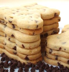 Recipe for Chocolate Chip Cut-out Cookies | Make Me Cake Me