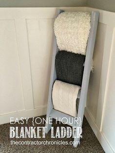 One-Hour Blanket Ladder