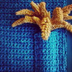 Design by Mari Dabbur www.maridabbur.com.br #handmade #colors #flores #flowers #quadro #design #decoration #blue #azul