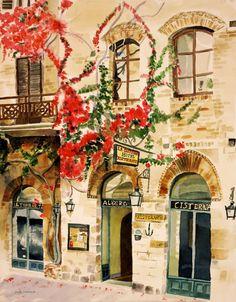 San Gimignano by judyswerlick on Etsy, $75.00