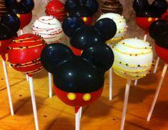 Mickey mouse cake pops! Use mini oreos as the ears!