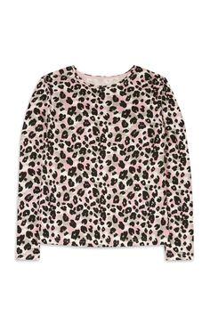 Primark - Top mit Leopardenmuster (Teeny Girls)