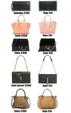 Fashion Blogger Mash Elle Shares The Ultimate Designer Bag Dupe Guide Over 20 Of Best Dupes Most Under 50