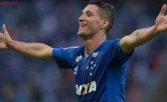 Thiago Neves abriu o placar: Cruzeiro faz 2 a 0 sobre o Palmeiras no primeiro tempo; veja os gols
