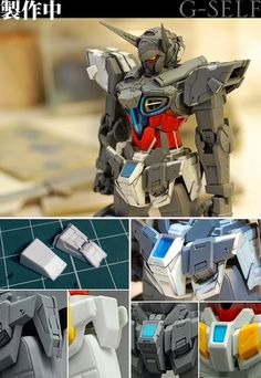 "Custom Build: HGRC 1/144 Gundam G-Self ""detailed"" GBWC 2014 Japan Entry - Gundam…"
