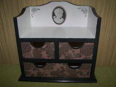 Cameo-decoupage box