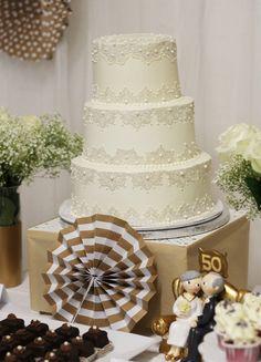 Tarta de boda de fondant