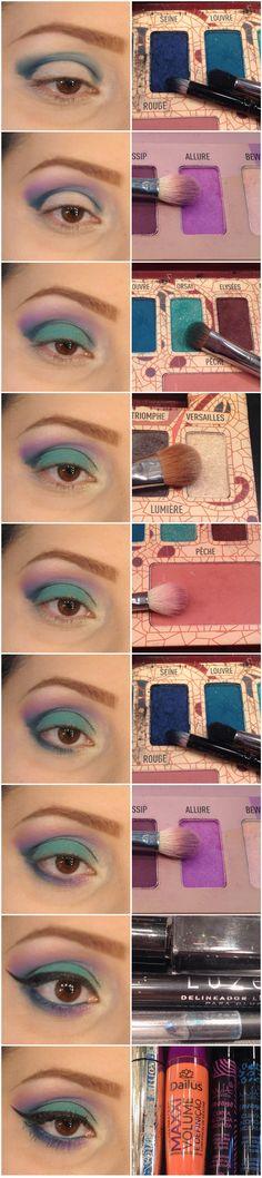 Maquiagem de Sexta – Tipo Unicórnio