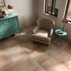 Phantastische Cotto-Nachbildung in Feinsteinzeug für Ihr Wohnzimmer im mediterranen Stil. Fliese aus der Serie 'Cotto' in der Farbe Argilla jetzt bei Ceratrends online kaufen. Wir freuen uns auf Ihren Besuch!