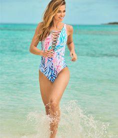 e7539ae2d0 Back Strap, Lilly Pulitzer, One Piece Swimsuit, Womens Bodysuit, One Piece  Swimwear