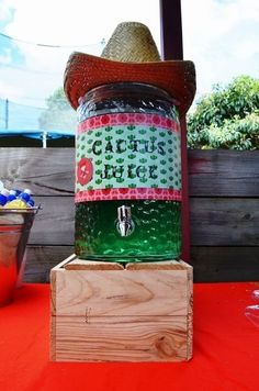 Cactus Juice. Perfect for Cowboy/western themed parties! by jan