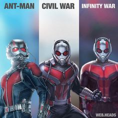 "11.2k Likes, 109 Comments - Web Heads (@web.heads) on Instagram: ""ANT-MAN!! The new suit Which suit is your favorite? #spiderman #spidermanhomecoming #homecoming…"""