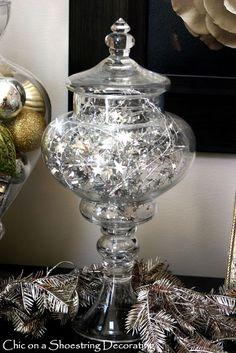 Decoração de Natal e Ano Novo Shabby Chic - blog Vera Moraes - Decoração - Adesivos Azulejos - Papelaria Personalizada - Templates para Blogs