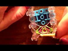 Rainbow Loom // How to - Chevron bracelet - tutorial ❤️ - YouTube