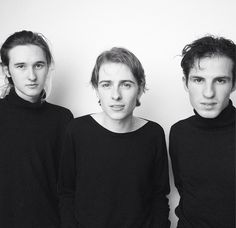 Cavan McCarthy Zachary Robinson and Austin Williams from Swim Deep