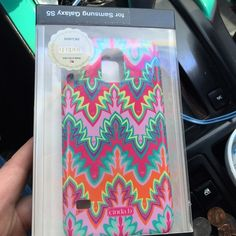 Galaxy S5 case Cinda B Brand new never been used, brand name Cinda B Cinda B. Accessories Phone Cases