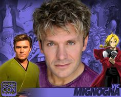 *PIN to WIN* Meet Vic Mignogna at #SLCC16! Best known for voicing anime + Star Trek Continues! #utah