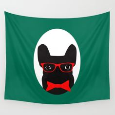 New In Store French Bulldog Wall Tapestry